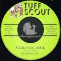 """Tuff Scout-7""""-Authentic Music / Robert Lee"""
