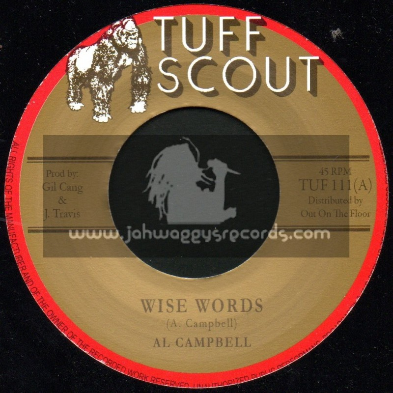 """Tuff Scout-7""""-Wise Words / Al Campbell"""