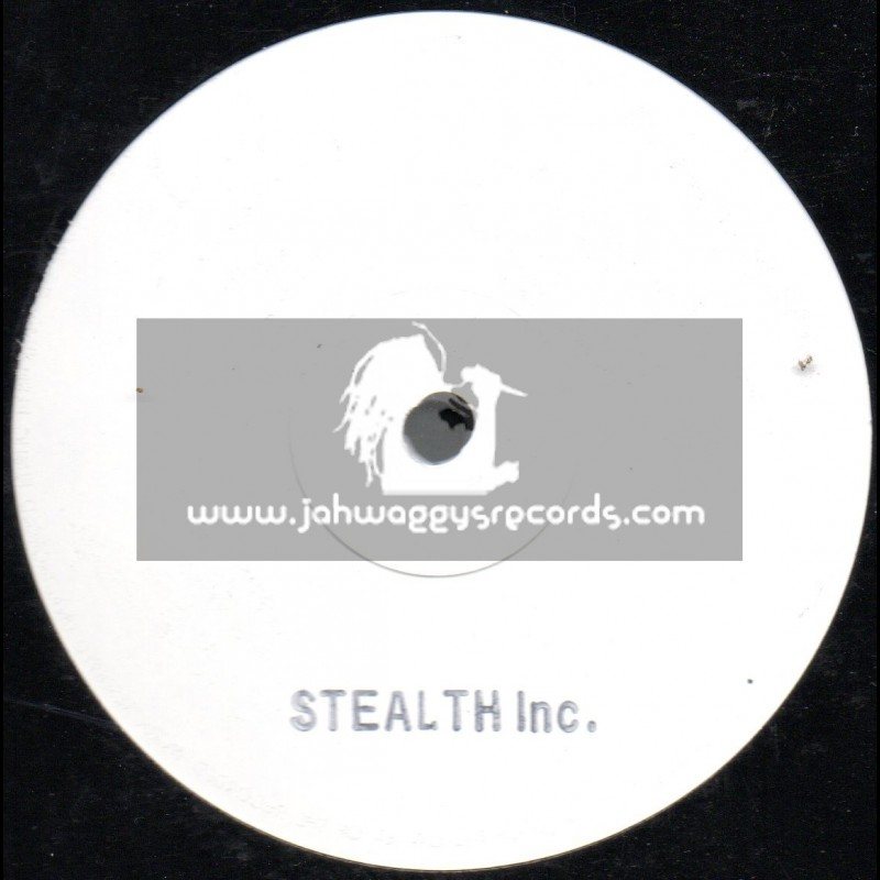 Stealth Inc-Lp-Studio 1 Re mixes / Blank Stamped White Label