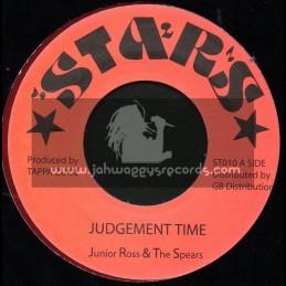 "Stars-7""-Judgement Time / Junior Ross & The Spears"