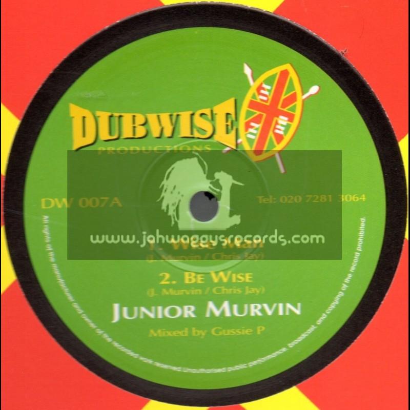 "Dubwise Productions-10""-Wise Man / Junior Murvin + Praise Him / Winston Furgus"