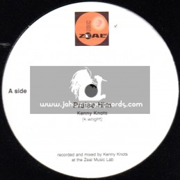 """Zeal Records-10""""-Praise Him + Only Jah / Kenny knotts"""