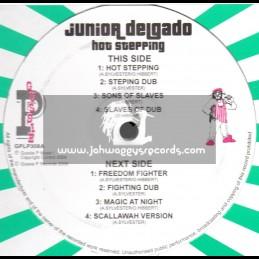 "Sip A Cup Showcase Vol-8-12""-Hot Stepping / Junior Delgado"