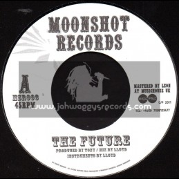 "Moonshot Records-7""-The Future / The Moonshot All Stars"