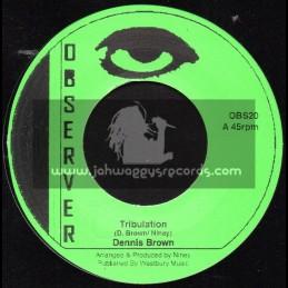 """Observer-7""""-Tribulation / Dennis Brown"""