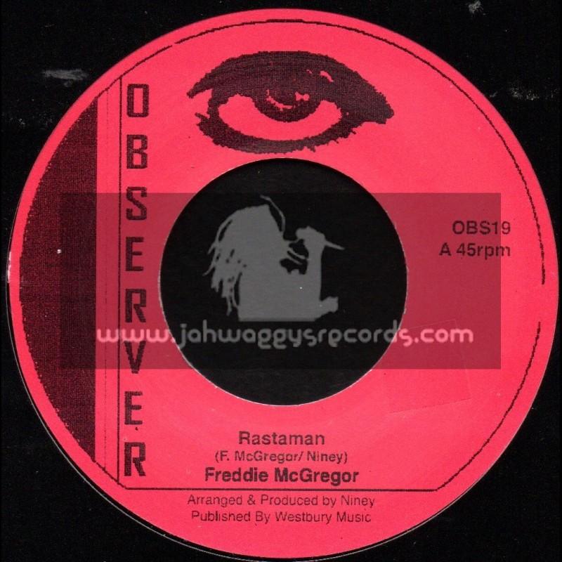 "Observer-7""-Rastaman + Walls Of Jericho / Freddie McGregor"