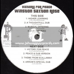 """Sip A Cup Showcase Vol-11-12""""-Victory For Peace / Winston Saxton Rose"""