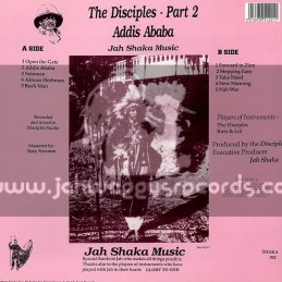 Jah Shaka Music-LP-Addis Ababa / The Disciples - Part 2