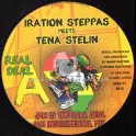 """Iration Steppas-12""""-Jah Is The Real Deal / Tena Stelin + Iniquity Worker / Ranking Joe"""