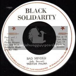 "Black Solidarity-7""-Bad Minded / Triston Palma"