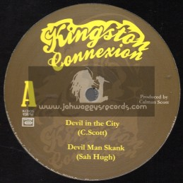 "Kingston Connexion-12""-Devil In The City / C.Scott"