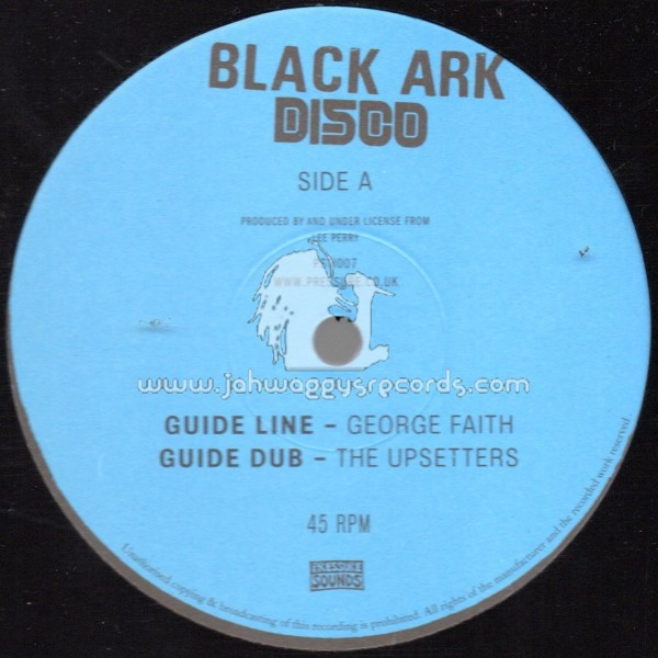"Black Ark Disco-12""-Guide Line / George Faith & The Upsetters"