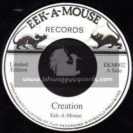 "Eek A Mouse Records-7""-Creation / Eek A Mouse"