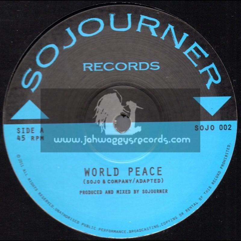 """Sojourner Records-12""""-World Peace / Sojourner"""