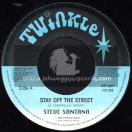 "Twinkle Brothers-7""-Stay Off The Streets / Steve Santana"