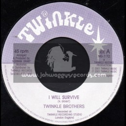 """Twinkle Brothers-7""""-I Will Survive / Twinkle Brothers"""