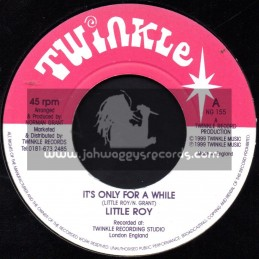 "Twinkle Brothers-7""-Its Only For A While / Little Roy"