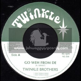 """Twinkle Brothers-7""""-Go Weh From De / Twinkle Brothers"""