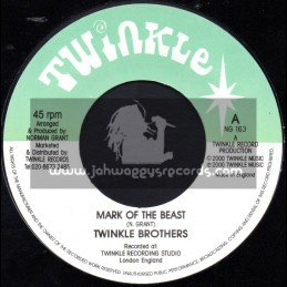 "Twinkle Brothers-7""-Mark Of The Beast / Twinkle Brothers"