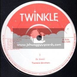 """Twinkle Brothers-12""""-I + Unemployment / The Twinkle Brothers"""