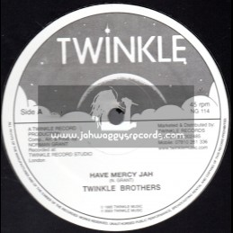 "Twinkle Brothers-12""-Have Mercy Jah + Prayer For The Government / The Twinkle Brothers"