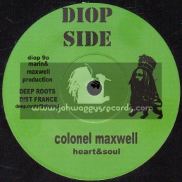 """Diop Side-7""""-Heart & Soul / Colonel Maxwell"""