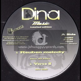 "Dina Music-10""-Reuben Melody / Dina Allstars (Limited Edition)"