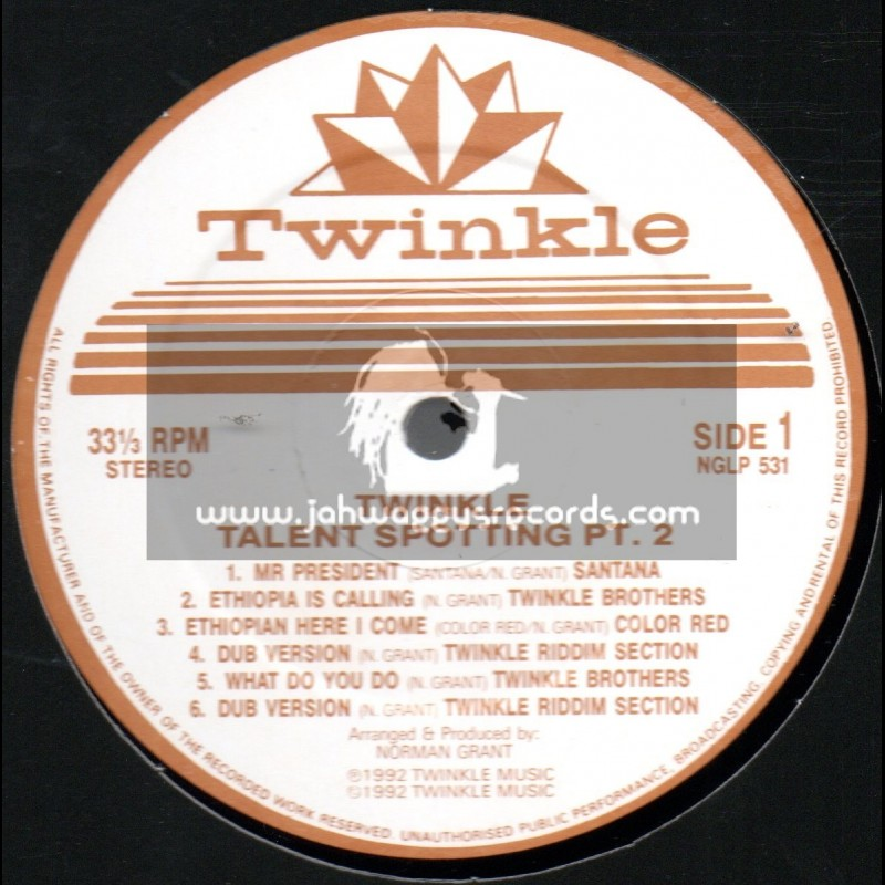 Twinkle Brothers-LP-Talent Spotting-Part 2