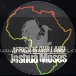 "Bristol Archive Records-12""-Africa Is Our Land / Joshua Moses (Limited Edition)"