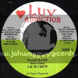 "Luv Addiction-7""-Naah Ramp + Eastern Sheen / J & M Crew (Original 2000)"