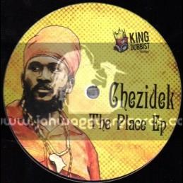 """King Dubbist Records-12""""-This Place / Chezidek"""