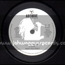 """Archice Recordings-10""""-Jah Jah Is No Gimmick / Mighty Soul Rebels"""