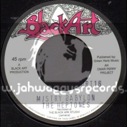 "Black Art-7""-Mistery Babylon / The Heptones"