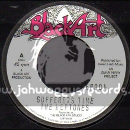 """Black Art-7""""-Sufferers Time / The Heptones"""