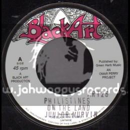 """Black Art-7""""-Philistines On The Land / Junior Murvin"""