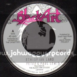 "Black Art-7""-Ethiopian Land / Peter & Paul Lewis"