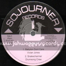 "Sojourner Records-10""-Babylon Dont Care / Vivian Jones"