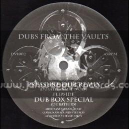 """Dubateers-10""""-Pressure Dub Remix / Dubateers Meet OBF + Dub Box Special / Dubateers"""