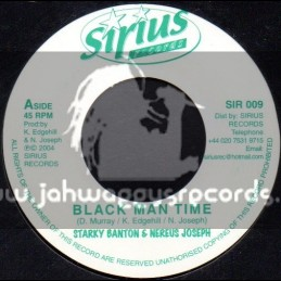 "Sirus Records-7""-Black Man Time / Starky Banton & Nereus Joseph"