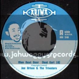 "Ariwa-7""-Man Next Door Feat Earl 16 / Joe Ariwa & The Trixters"