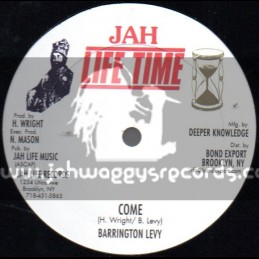 "Jah Life Records-12""-Come + During When Making Love / Barrington Levy"