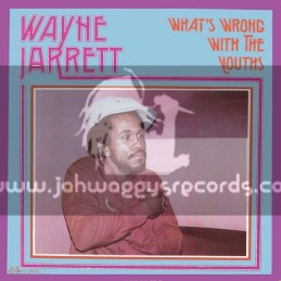 Dub Irator-LP-Whats Wrong With The Youths / Wayne Jarrett