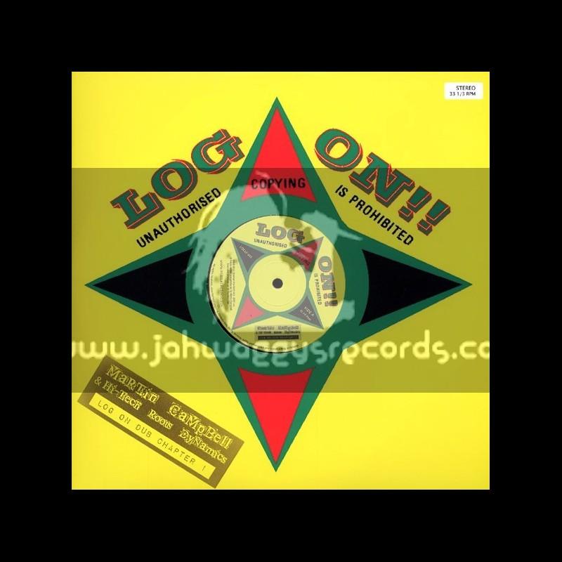 Log On Dub Chapter 1-LP-Martin Campbell & Hi-Tech Roots Dynamics