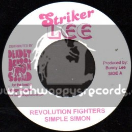 "Striker Lee-7""-Revolution Fighters / Simple Simon"