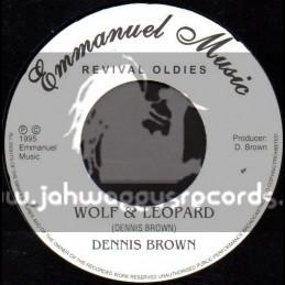 Emmanuel Music-Wolf & Leopard + Here I Come / Dennis Brown