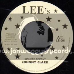 "Lee s -7""-Sinners Repent / Johnny Clarke"