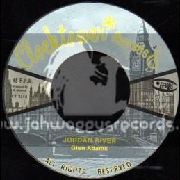 "Clock Tower Records-7""-Jordan River / Glen Adams"