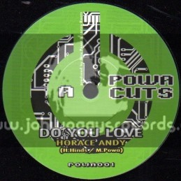 """Powa Cuts-7""""-Do You Love / Horace Andy"""