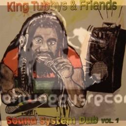King Tubbys & Friends-LP-Sound System Dub Vol-1