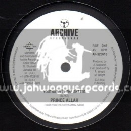 """Archive Recordings-10""""-Youthman In The Ghetto / Prince Allah"""